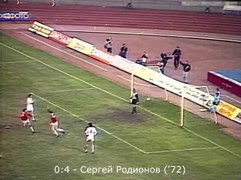 Динамо Киев - Спартак  1:4 (Чемпионат СССР 1989 - 7 тур)