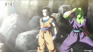 Goku turns limit breaker for the first time(dragon ball super episodes 190 and 110)