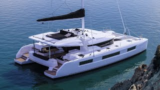 Lagoon 50 catamaran Walkthrough at Cannes 2017