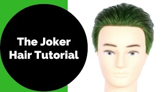 Jared Leto Joker Green Hair - Suicide Squad - TheSalonGuy
