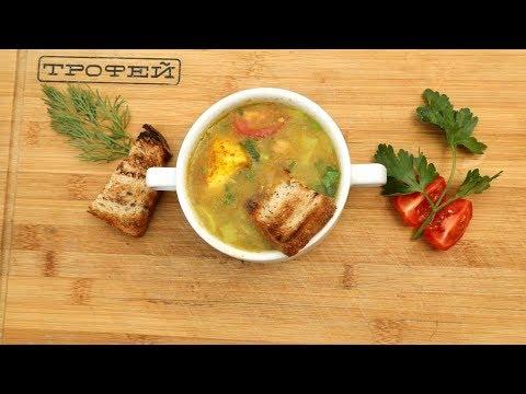 Суп Карри с овощами и Жареным Сыром [Готовим на природе №96]