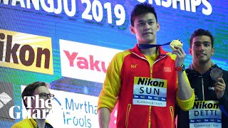 Mack Horton refuses to share podium with Chinese winner at swimming championship