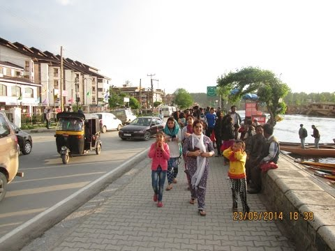 Boulevard Road, Dal Lake - Most Prestigious Road In Srinagar, Kashmir, India HD Video