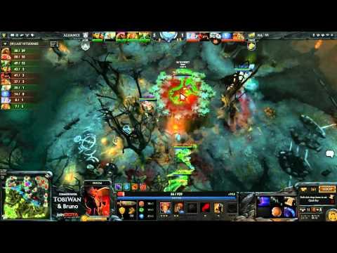 Na'Vi vs The Alliance Game 3 - StarLadder VII LAN Grand Final DOTA 2 - Tobi Wan & Bruno