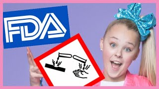 Beauty Science News!! Jojo Siwa Asbestos, Acid Proof Makeup, US Cosmetic Regulation Overhaul