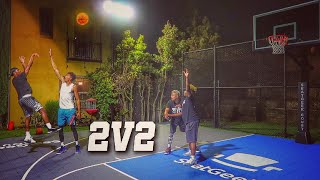 2V2!! The UNDEFEATED DUO Duke Dennis and Imdavisss VS Kristopher London and Zackttg!