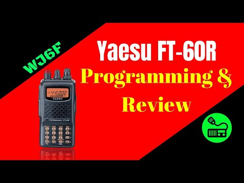 Yaesu FT-60R Review and Programming Tutorial