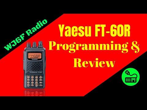 Yaesu FT-60R Review and Programming Tutorial