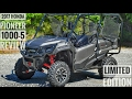 2017 Honda Pioneer 1000-5 Limited Edition Review of Specs & Features / UTV Walk-Around | SXS10M5LE