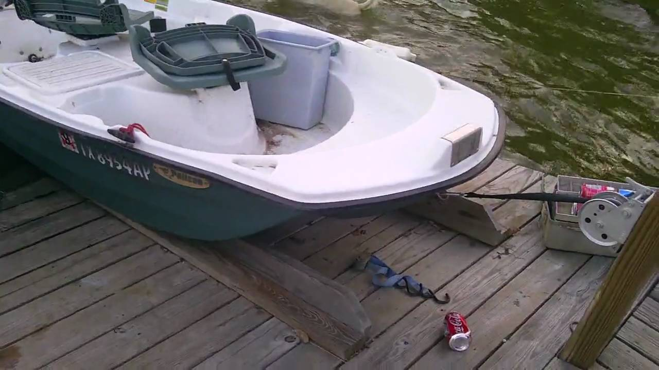 how to choose a tender for a 20 foot boat