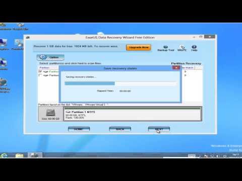 Recover data after partition deleted freeware