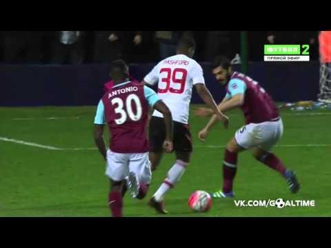 Marcus Rashford Goal West Ham 0:2 Manchester United 13/04/16