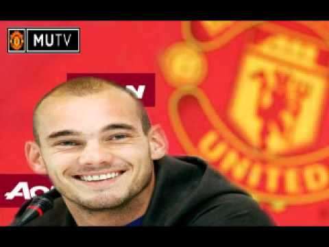 Manchester United Sign Wesley Sneijder