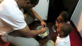 Pancakes with Daddy vlog! 12/8/14