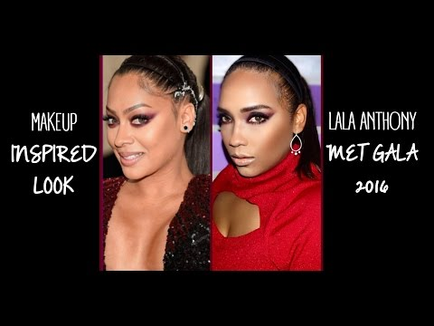 La La Anthony Met Gala 2016 Inspired Makeup Tutorial || Tutorial La La Anthony Met Gala 2016