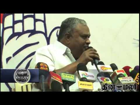 Congress Gnanadesigan Explains Reasons for Resigning Tamilnadu Congress Leader post