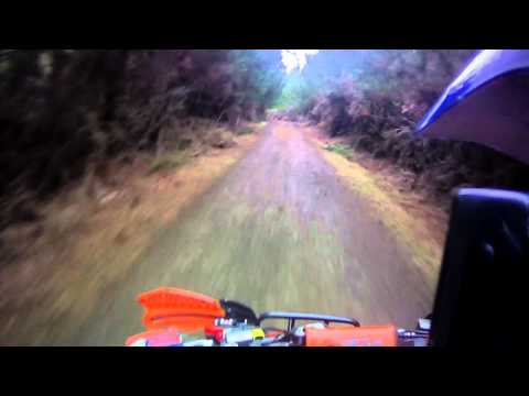 KTM 505 Gravel Sprint 2012 Riverhead Forest Auckland New Zealand