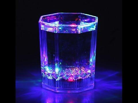 Светящаяся вода с витамином