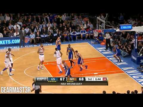 Carmelo Anthony - 35 points vs Warriors Full Highlights (2013.02.27)