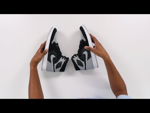 "UNBOXING: The NEW Air JORDAN 1 FLYKNIT ""Shadow"" Sneaker"