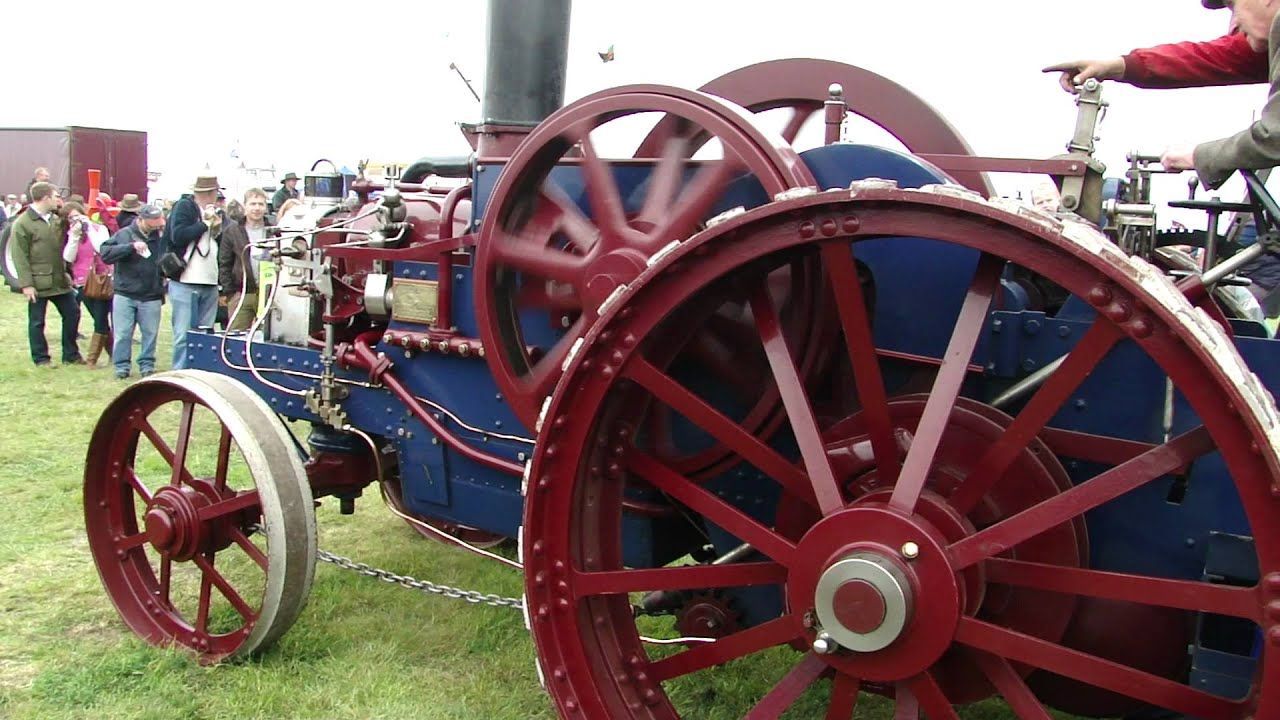 1897 Hornsby Ackroyd Oil Tractor Engine Youtube