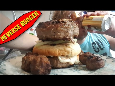reverse burger how to make it tutorial youtube