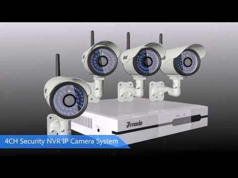 Zmodo NVR HD Wireless IP Camera Home Security System - A True Revolution of Surveillance System!