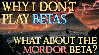 Why I Don't Play Betas - LOTRO Mordor Beta: Will I Play? (LOTRO RK and Champion Gameplay)