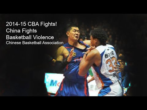 China Basketball Fights | Cba 2014-15 | Chinese Basketball Association Brawls video