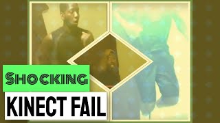 Shocking Kinect Fail - Wipeout in the Zone