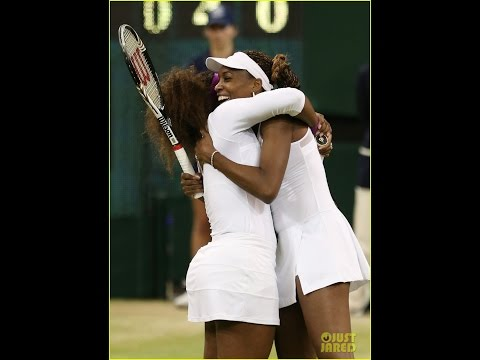 VENUS AND SERENA WILLIAMS WIMBLEDON 2015 -  SISTERS