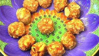 Telangana Special Sweet - Malida Laddu