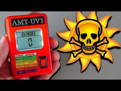 ☀️ Спаси Себя от Рака Кожи! Датчик УФ Лучей на Arduino Своими Руками
