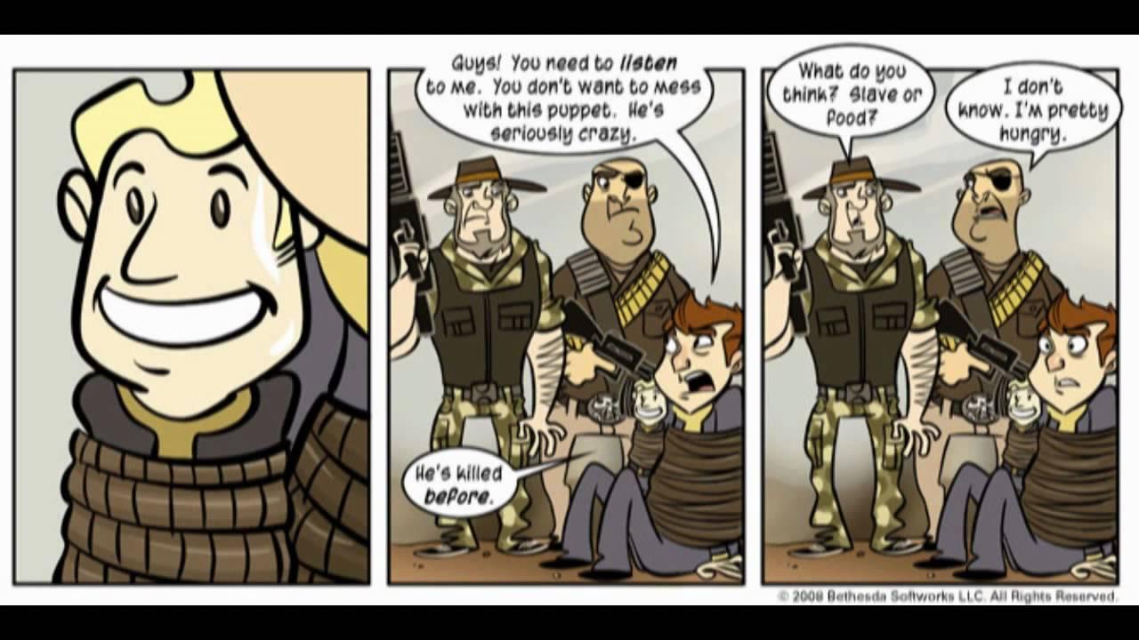 Fallout 3 Cartoon Fallout 3 Penny Arcade Comic