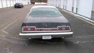 1974 ford ltd out of winter storage