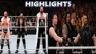 WWE 2K16 The Shield vs Bullet Club - Dream Match Highlights