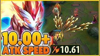 *36 STACKS* THE HIGHEST ATTACK SPEED IN THE GAME (1,000+ RANGE) - BunnyFuFuu