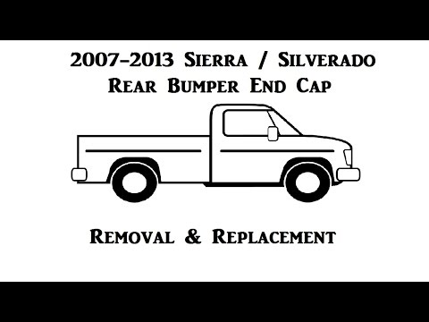 2007-2013 GMC Sierra / Chevrolet Silverado - Bumper End Cap Replacement