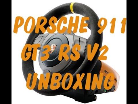 ★UNBOXING VOLANTE FANATEC PORSCHE 911 GT3 RS V2★