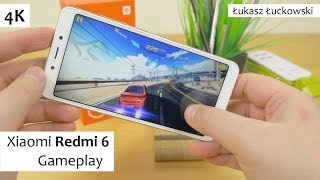 Xiaomi Redmi 6 Helio P22 MT67620 , 3 GB Ram, PowerVR GE8320 | Gameplay