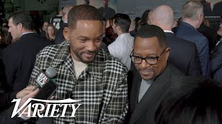 Will Smith & Martin Lawrence Bring the Hype to the 'Bad Boys For Life' Premiere
