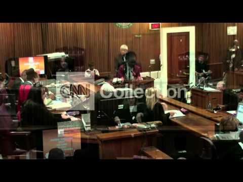 SOUTH AFRICA: PISTORIUS TRIAL RESUMES (MONDAY)
