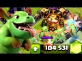 Clash of Clans - Gemming Baby Dragon to MAX! New Update Gamep...