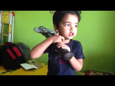 Aaryan sings - badal yun garajta hai
