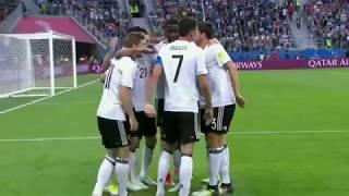 El error de Marcelo Díaz - Chile VS Alemania - Gol Alemán - Copa Confederaciones 2017