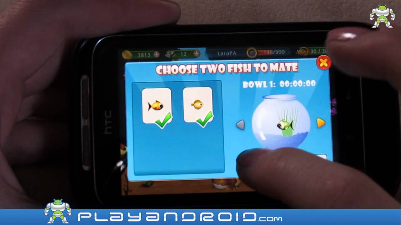 Fish live android game review by youtube for Fish live game