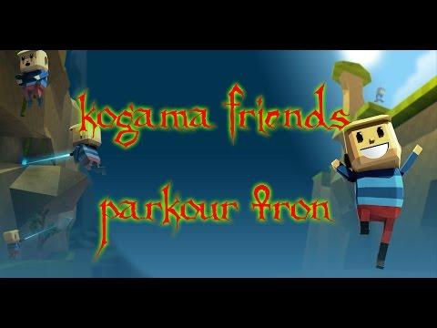 KoGaMa Friends Parkour Tron