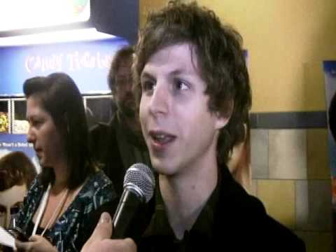 Michael Cera talks cuddling a hot chick and Jonah Hill - Youth in Revolt Premiere with Brad Blanks