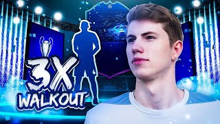 FIFA 19: CHAMPIONS LEAGUE 50K PACKS! I TRIPLE WALKOUT! 😱🔥