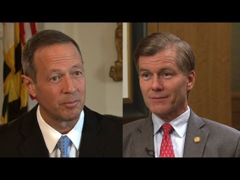 Governors Bob McDonnell of Virginia and Martin O'Malley of Maryland : Contrasting Visions
